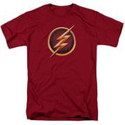 The Flash - Chest Logo - Short Sleeve Shirt - X-Large