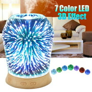 3D LED Ultrasonic Aromatherapy Essential Oil Diffuser Air Purifier