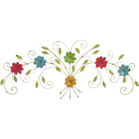 Elements Multicolor Floral Bush Wall Decor - Walmart.com