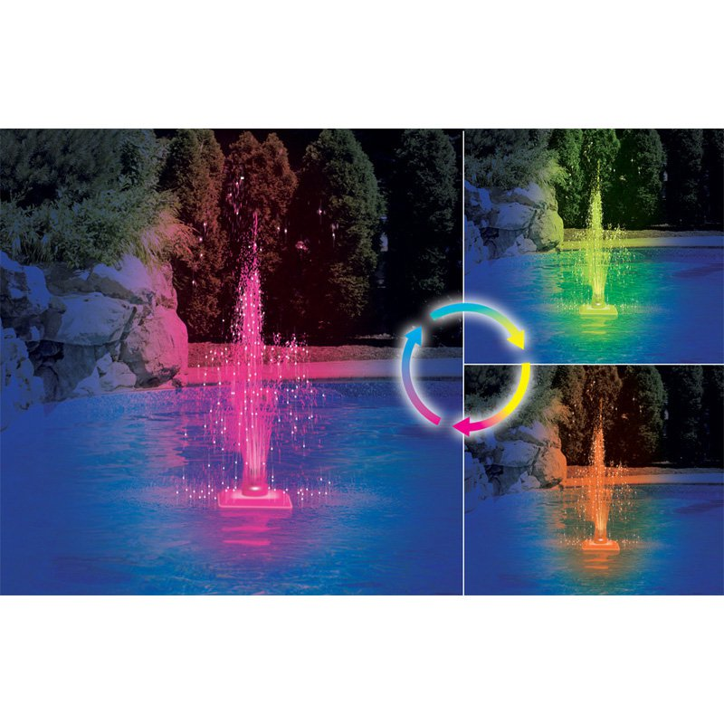 Swimline Color Changing LED Fountain