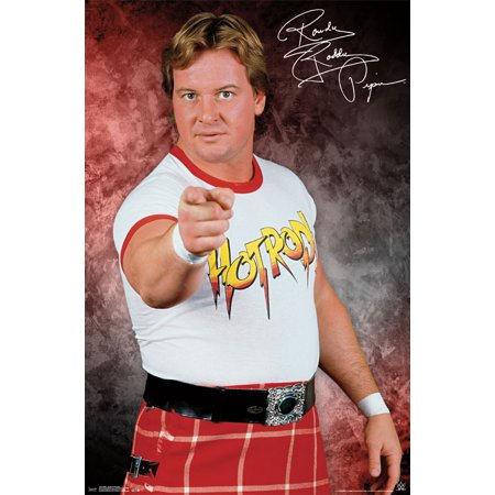 Trends International WWE Rowdy Roddy Piper Wall Poster 22.375