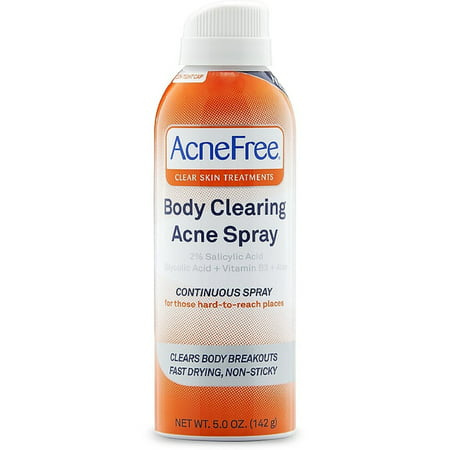 AcneFree Body Clearing Acne Spray 5