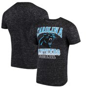 Carolina Panthers G-III Sports by Carl Banks Outfield Speckle T-Shirt - Black