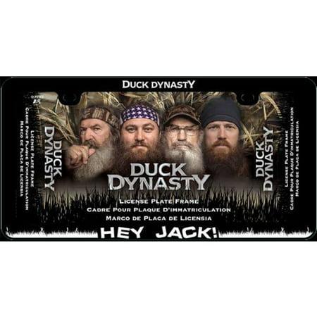 Duck Dynasty 6x12 Plastic License Plate Frame-