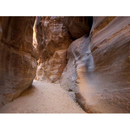 The Siq, Petra, Unesco World Heritage Site, Jordan, Middle East Print Wall Art By Sergio