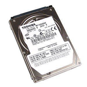 Toshiba MK1652GSX 160GB 2.5-Inch 5400RPM SATA OEM Notebook Hard