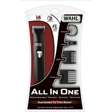 Wahl All In One Rechargeable Hair Trimmer, 1 ea. (Pack of ...