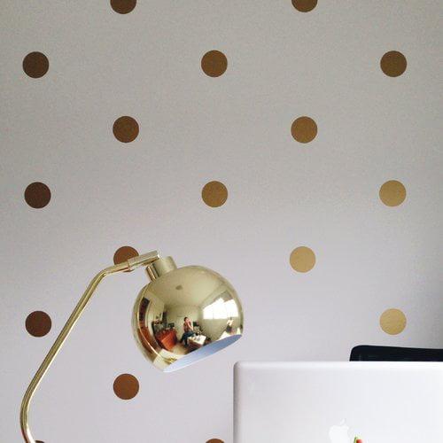 Urban Walls Polka Dots Wall Decal (Set of 50)