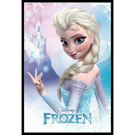 Frozen - Elsa - Close Up Poster Poster Print](Frozen Poster)