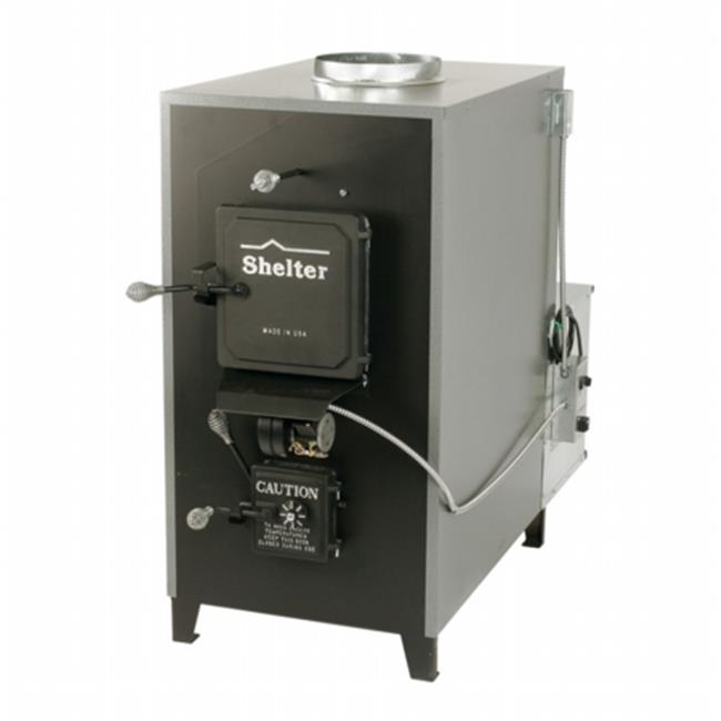 Shelter Furnace SF2626 100,000 BTU Indoor Wood/Coal Burni...