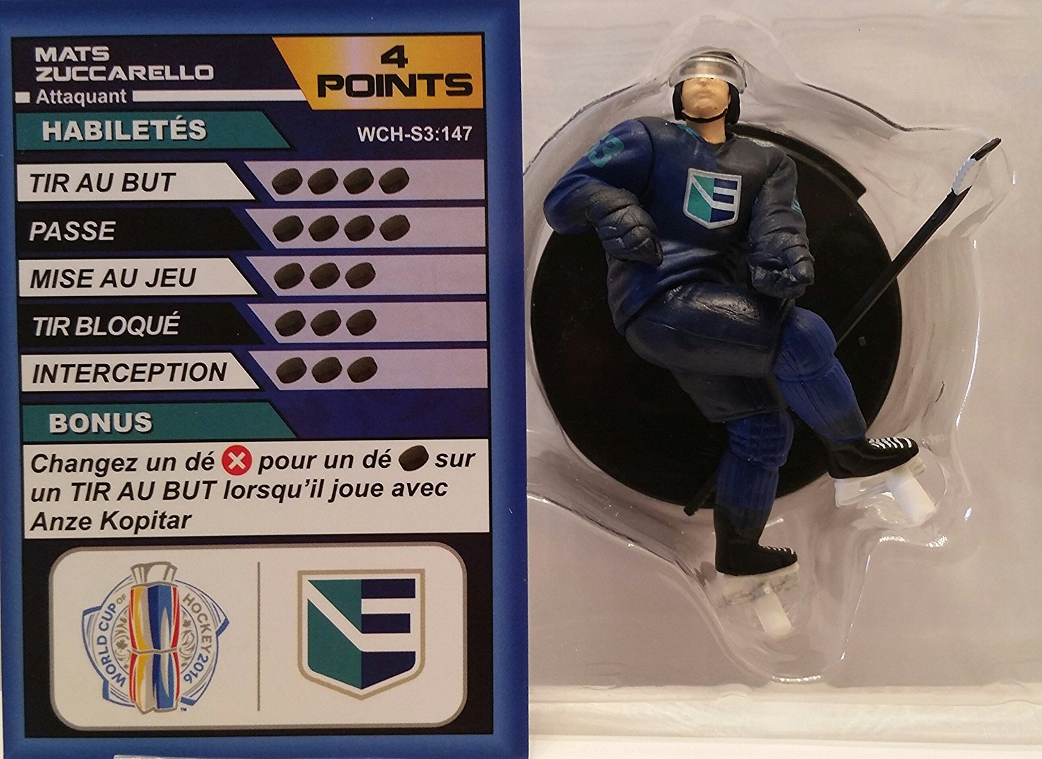 World Cup of Hockey Team Europe Mats Zuccarello (Common) by