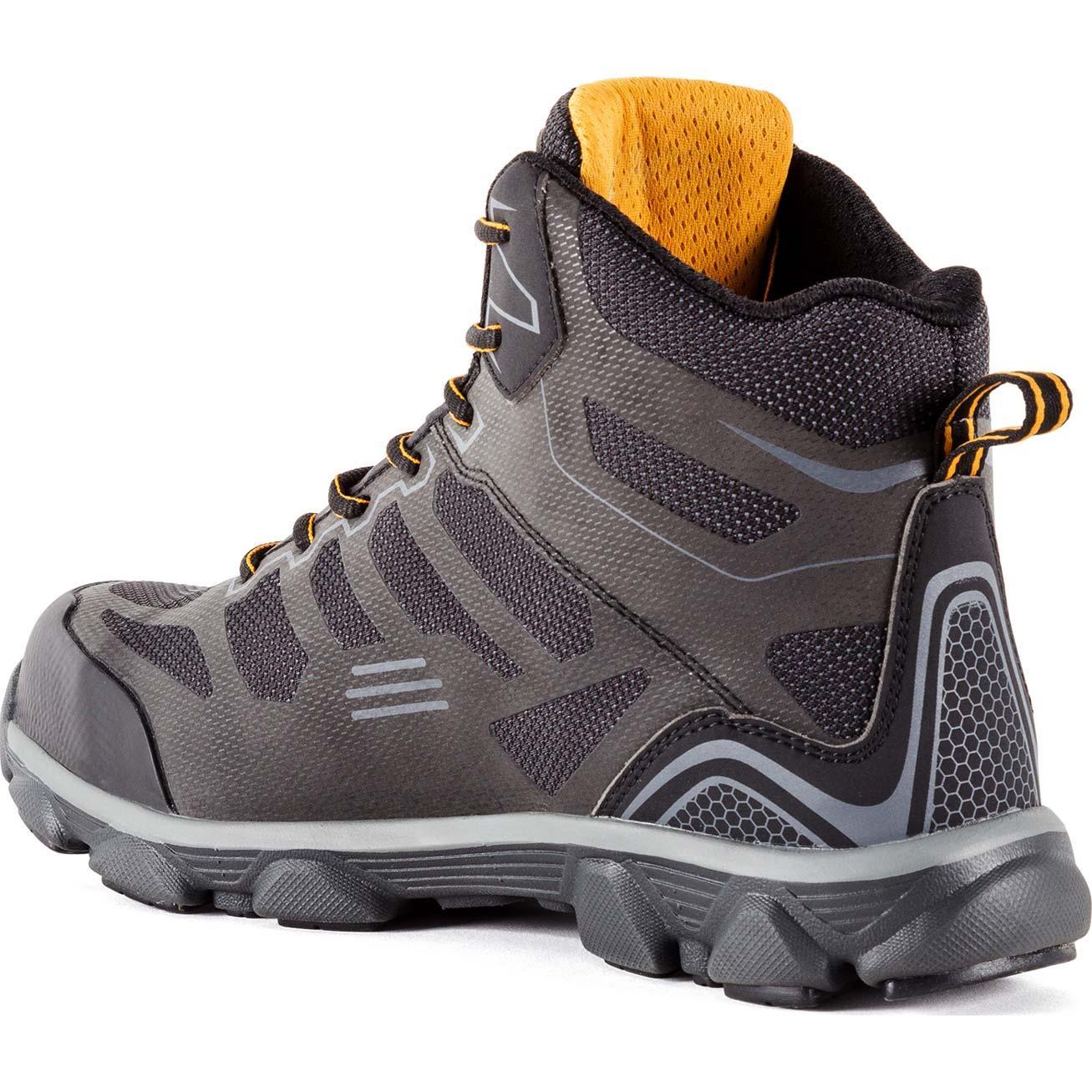 2a760ef734a DeWALT Footwear Men's Crossfire Mid Aluminum Toe Work Boot