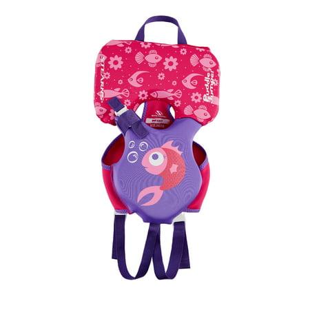 Puddle Jumper Kids Hydroprene Life Vest for Infants Under 30 Pounds, Pink