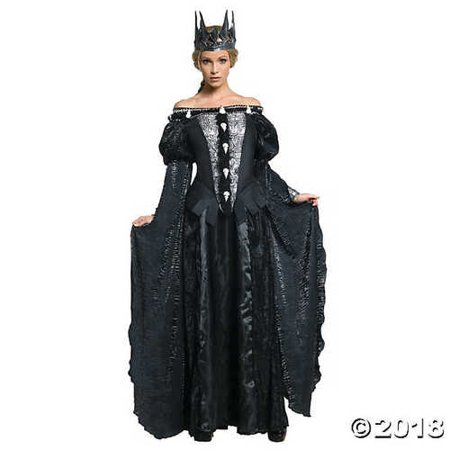 UHC Women's Snow White And The Huntsman Queen Ravenna Dark Evil Costume, L (12-14)