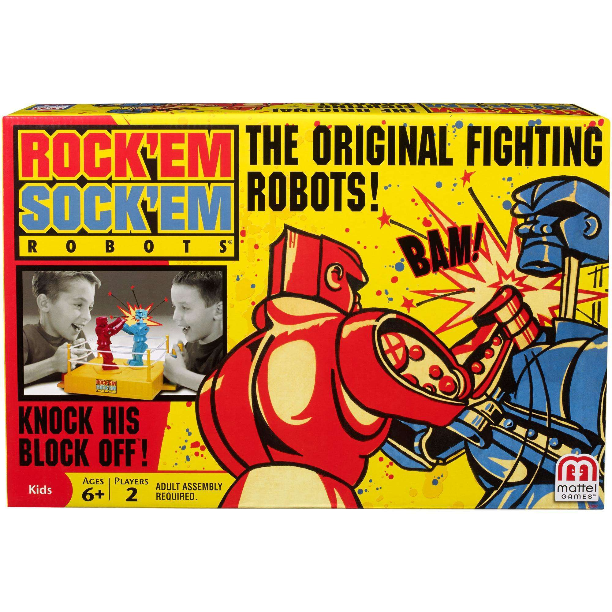 Rock'em Sock'em Robots by Mattel