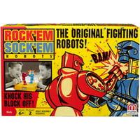 Rock 'Em Sock 'Em Robots Boxing Game for 2 Players Ages 6Y+