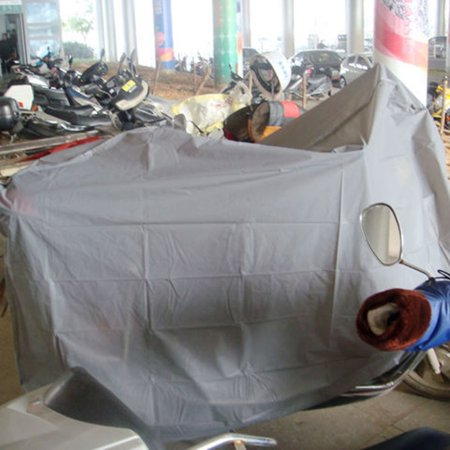 Brand New Single Layer Rain-proof Sun-proof Motorcycle Cover Hood For Motorcycle Bicycle - image 2 of 7