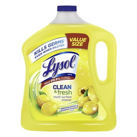 Lysol Clean & Fresh Multi-Surface Cleaner, Lemon & Sunflower, 90oz