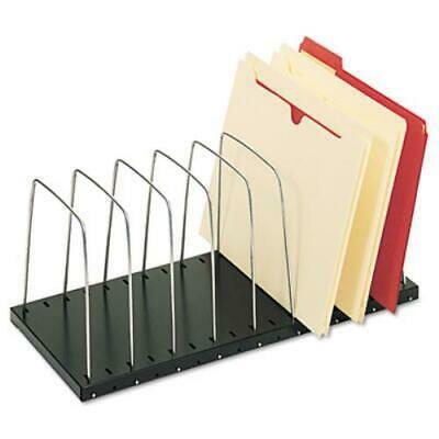 SteelMaster Wire Desktop Organizer, Eight Sections, 18 3/8 x 8 1/2 x 7 3/4