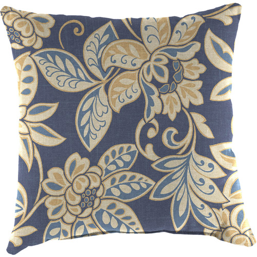 "Jordan Manufacturing 16"" Indoor/Outdoor Patio Toss Pillow, Maine"