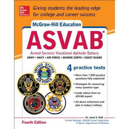 McGraw-Hill Education Asvab, Fourth Edition