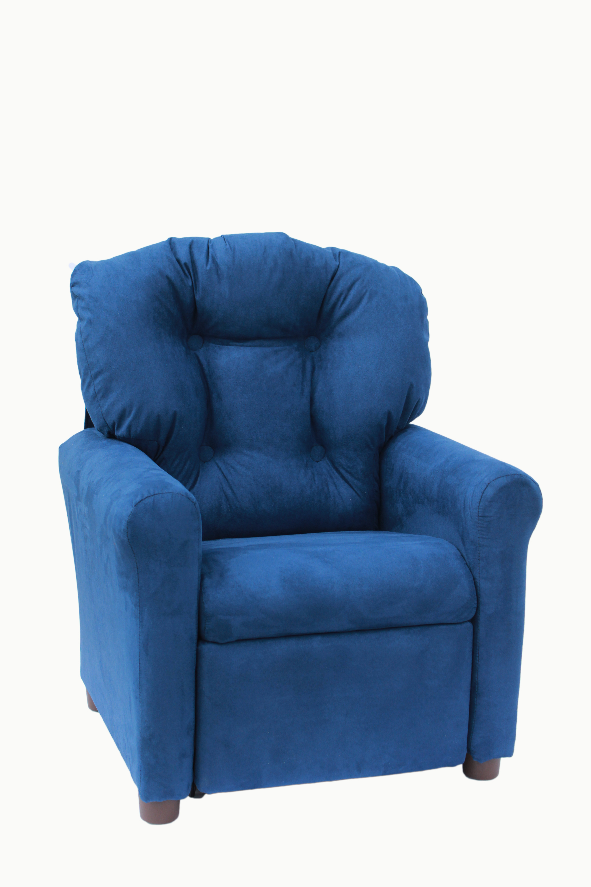 Crew Furniture Traditional Child Recliner Available in Multiple