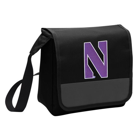 Northwestern Lunch Bag Stylish OFFICIAL NU Wildcats Lunchbox Cooler for School or Office - Men or Women ()