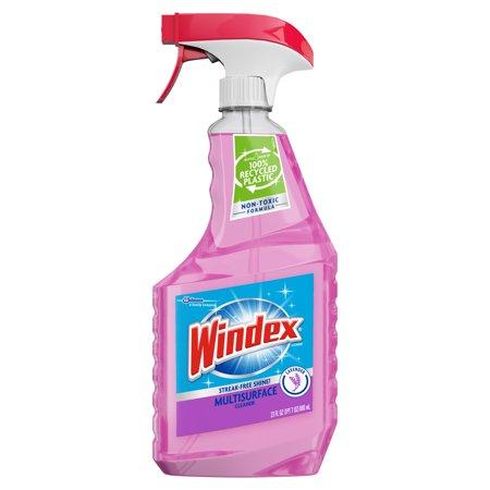 Windex Multi-Surface Cleaner Trigger Bottle, Lavender, 23 fl oz
