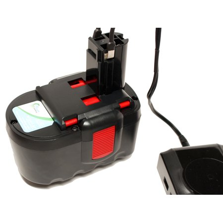 Bosch BAT030 Battery + Charger - Replacement Bosch 24V Battery and Charger (1300mAh, NICD) - image 3 de 4
