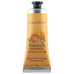 Crabtree & Evelyn Ultra Moisturizing Hand Therapy,Tarocco Orange Eucalyptus & Sage, 3.5 Oz