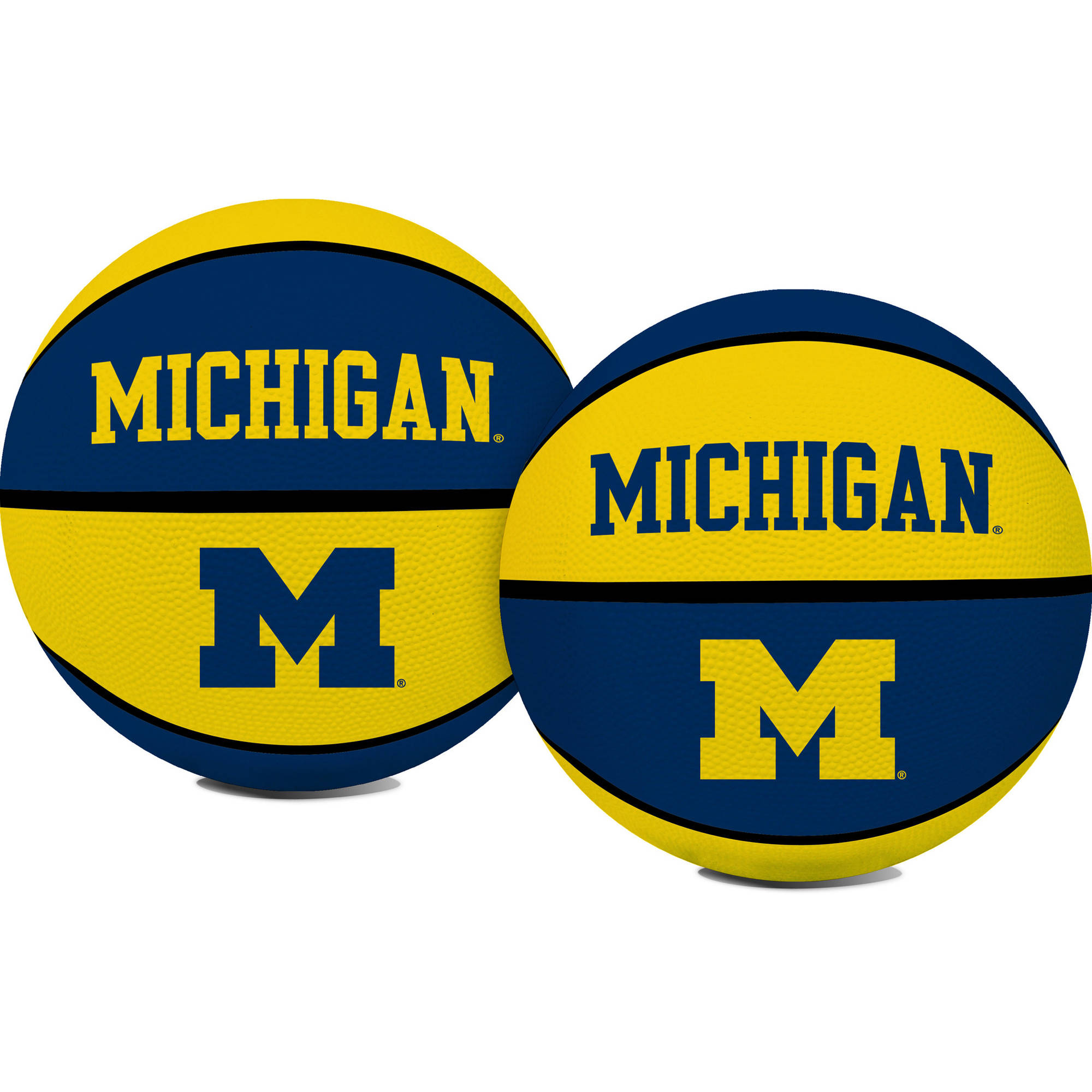 Rawlings NCAA Crossover Full Size Basketball University Of Michigan Wolverines