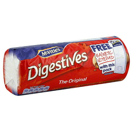 McVities Digestives The Original Cookies, 14.1 oz, (Pack of 12)