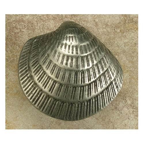 Sm. Clam Shell knob (Set of 10) (Antique Gold)