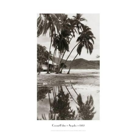 Coco Palms - Coco Palms, Acapulco, 1932 Print Wall Art