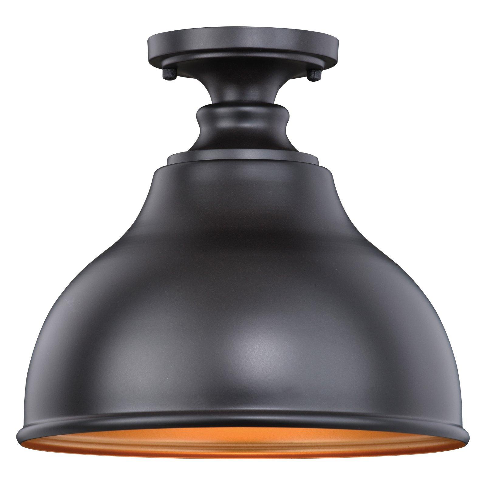 Vaxcel Delano T0315 Outdoor Semi Flush Mount Light