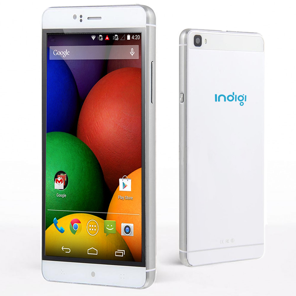 Indigi® 6.0in 3G Smartphone Android 5.1 SmartPhone + WiFi + Bluetooth + Google Play Store (GSM Unlocked) Black