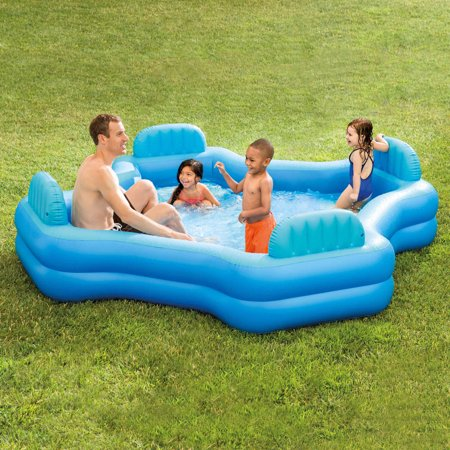 2b09b246d905 Intex Inflatable Swim Center Family Lounge Pool