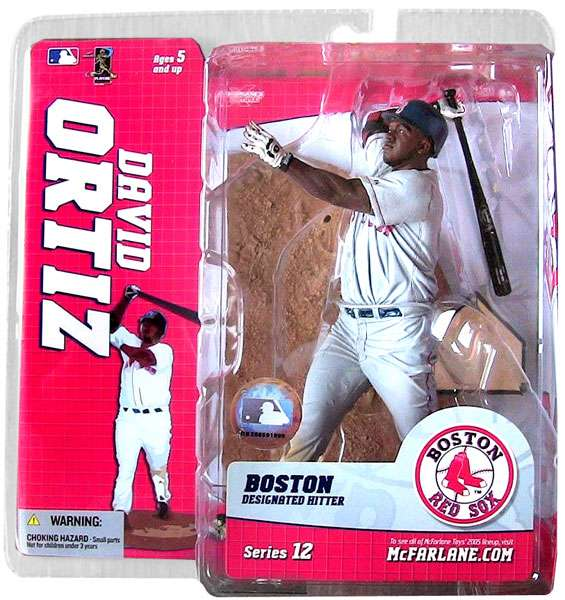David Ortiz Action Figure Gray Jersey Variant Sports Picks Series 12