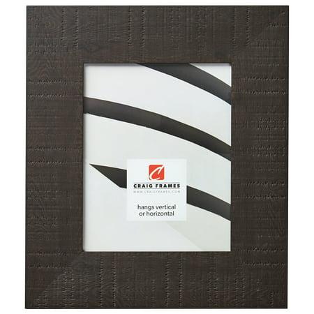 Craig Frames Chesterton, Dark Brown Oakwood Picture Frame, 12 x 12 Inch