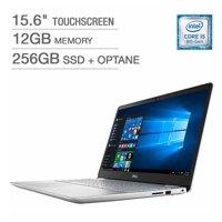 "Dell Inspiron 15 Laptop: Core i5-8265U, 12GB RAM, 256GB SSD+16GB Optane, 15.6"" Full HD Touch Display"