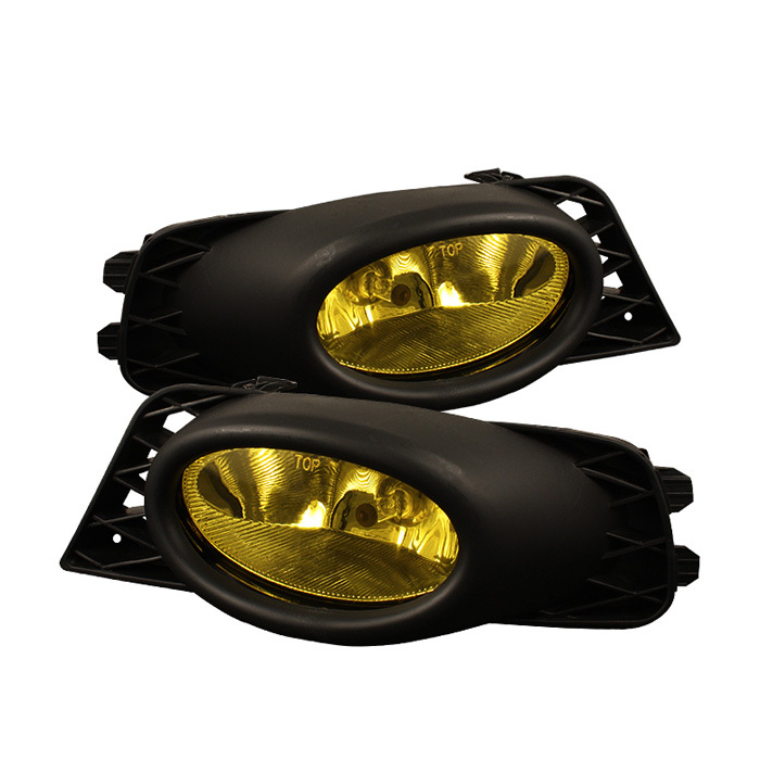 Spyder Honda Civic 09-11 4Dr OEM Fog Lights W/Switch- Yellow