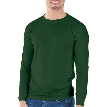 Gildan Mens Classic Long Sleeve T-Shirt - Walmart.com