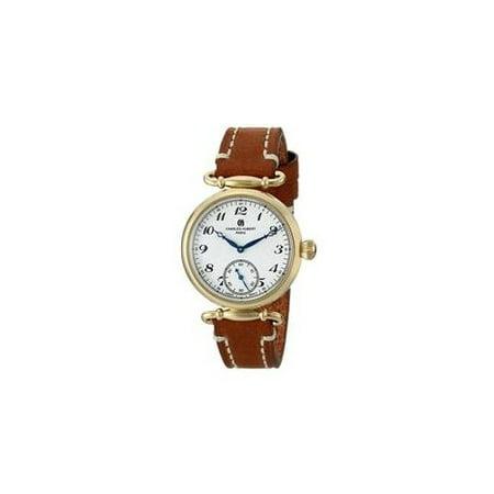 Charles-Hubert, Paris Women's 6957-G Premium Collection Analog Display Japanese Quartz Brown Watch ()