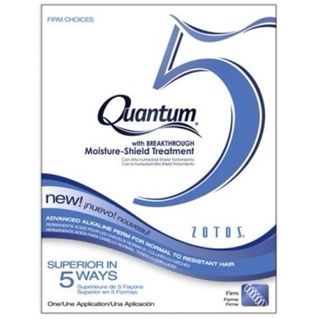 Zotos Quantum 5 Firm Choices Alkaline Perm - One Application (Quantum Firm Perm)