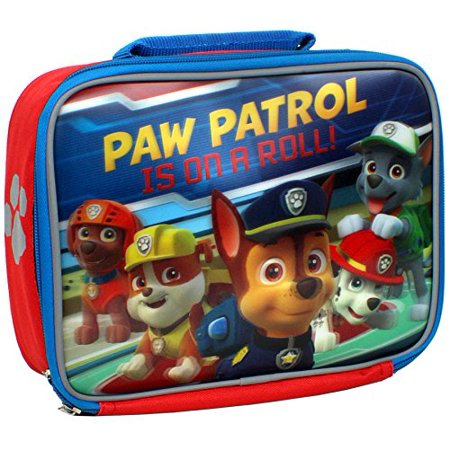 Paw Patrol 9.5 inch Lunch Kit Paw Patrol Is On A Roll by, Paw Patrol puppy pals insulated lunch box By Accessory - Paw Patrol Accessories