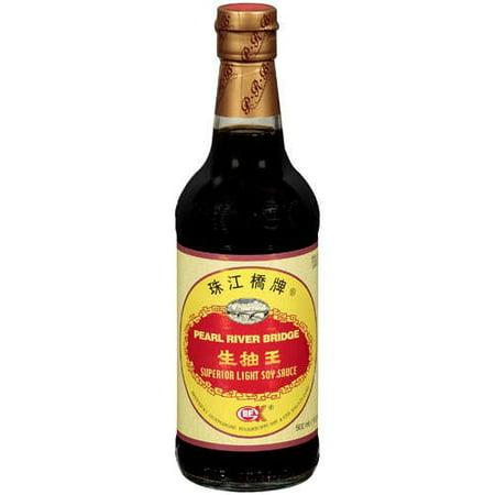(3 Pack) Pearl River Bridge Light Soy Sauce, 16.9 fl oz