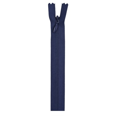 """Coats 9"""" Polyester All Purpose Navy Zipper, 1 Each"""
