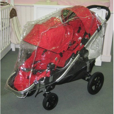 Sasha S Rain Wind Cover Baby Jogger City Select Double Stroller Not Included