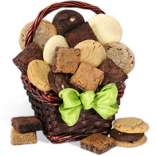 Birthday Gift Basket Of Baked Goods