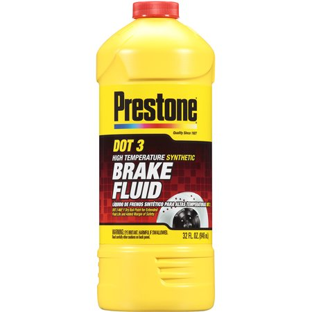 Prestone DOT 3 Brake Fluid, 32 oz